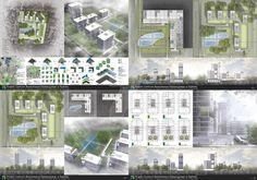 Office center in Rybnik by Kokoro-Architecture on DeviantArt Kokoro, Deviantart, Projects, Design, Log Projects, Design Comics