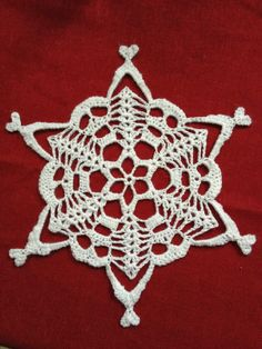 Warmer Than a Witch's Knits: Erishkigal Skully Snowflake
