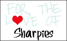 Lots of cool projects using SHARPIES! OMG... Pin now, read later!