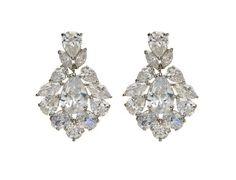 crystal drop earrings...