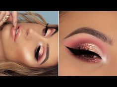 Feeling like a sassy mermaid with this cute pink glitter cut crease! ** yes i said ofra and not oprah for the glitter hahaha i know.... ** Videos every week,...