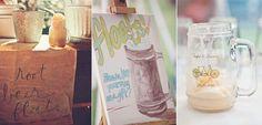 Love the Mugs!  A Lowcountry Wedding - Charleston, Myrtle Beach & Hilton Head's Favorite Wedding Resource: Food + Drink Stations