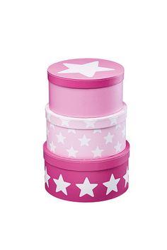Kids Concept Star Pappoxar 3 pack Rosa . - Småförvaring | Ellos Mobile