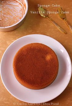 Sponge Cake | Vanilla Sponge Cake | Basic Cake - Using Pressure Cooker