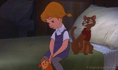 Rufus the cat from rescuers