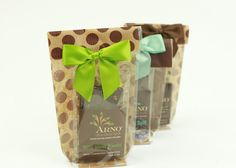 Arno Chocolates 4 oz package size, available in all our delicious flavors.