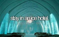 Ice hotel:p