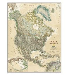Buy North America Wall Maps