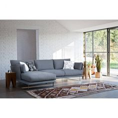 Eleanor corner sofa - £1,891.00 Sleek, sumptuous and contemporary - the Eleanor's shape offers a modern design and still provides great comfort levels through the deep seat and generous back height. The timeless shape of the Eleanor is suited to most interior styles.  http://www.loveyourhomeforless.com/living-room/sofas/modern-sofas/eleanor-modern-corner-sofa-3669.html