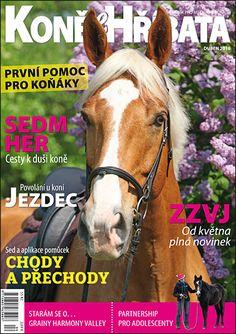 Duben 2016 Equestrian, Magazines, Horses, Lab Coats, Journals, Horseback Riding, Horse, Hunter Jumper, Magazine