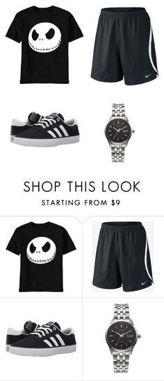 """""""South Italy #29"""" by kreepykitten on Polyvore featuring NIKE, adidas, Citizen, men's fashion and menswear"""