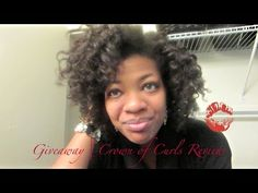 Giveaway| Crown of Curls Review - YouTube