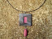 Polymer clay pendant Polymer Clay Pendant, Pendant Necklace, Jewelry, Jewlery, Jewels, Jewerly, Jewelery, Drop Necklace, Accessories
