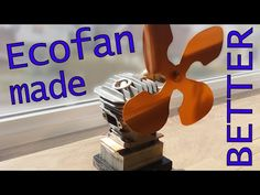 In this Instructable we will be making a beautiful but functional stove top sculpture-ecofan, from junk.The ecofan uses the heat coming from a wood burner to power a...