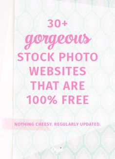 Here are the best free CC0 photo websites for beautiful, legal, AND free stock photos that won't jeopardize your blog. Gorgeous new photos added regularly!