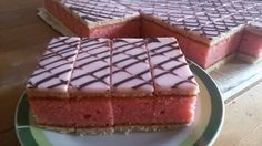 The 10 best recipes for punch desserts Czech Desserts, Sweet Desserts, Sweet Recipes, Dessert Recipes, Sweet Cooking, Czech Recipes, Salty Snacks, Different Cakes, Sweet Cakes