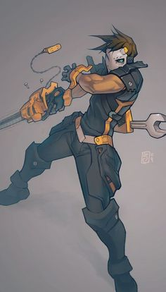 Mechanic by ~Xeromander on deviantART: