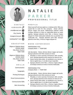Your resume is one of your best marketing tools. The goal of your resume is to tell your individual story in a compelling way that drives prospective employers to want to meet you. Interior Design Resume Template, Graphic Design Resume, Letterhead Design, Modern Resume Template, Graphic Designer Cv, Interior Design Cv, Creative Cv Template, Template Cv, Creative Cv Design