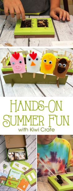 Kiwi Crate is an award-winning monthly craft and activity subscription box for kids, and it is seriously AWESOME! Get a 25% discount code for signing up at the bottom of the blog post! #KiwiSummerFun