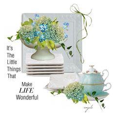 """Make Life Wonderful"" by emjule ❤ liked on Polyvore featuring art"