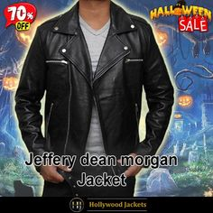 #Halloween Hot offer Get 70% #TvSeries The Walking Dead Jeffrey Dean S08 #Negan Black Leather Jacket. #HalloweenSale #Halloween #Sale #2021 #OOTD #Style #Cosplay #Costum #men #fashionstyle #women #jacket #shopnow #Clothes #leather #discountoffer #outfit #tvseris #onlineshopping #discount #buymypremium #celebrities #offers #fashion #movie