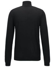 Boss Men's Turtleneck Sweater - Black L