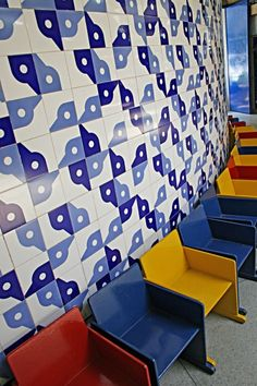 the tiles were made by Athos Bulcão | brasil | patterntiles
