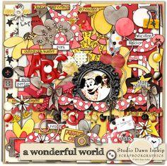 A Wonderful World Kit (Disney digital kit)