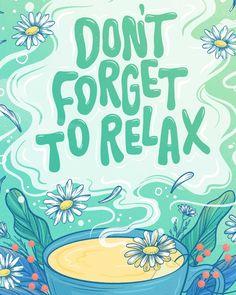 Trader Joe's Self Care Greeting Card — Belinda   Lettering Artist and Illustrator   Chicago