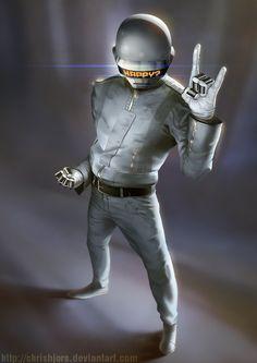 Daft Punk #2 by ChrisBjors.deviantart.com on @deviantART