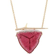 EBJ Tourmaline Thorn Necklace