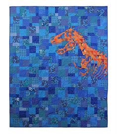 dinosaur quilt--so awesome