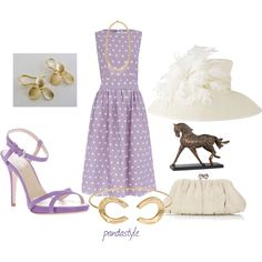 kentucky derby style, created by pandastyle-821 on Polyvore