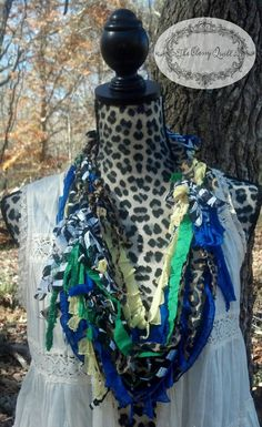 RECYCLED REMNANTS Upcycled Scrappy Scarf