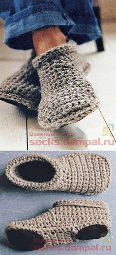 Cozy Crocheted Slipper Boots Free Crochet Pattern – Video This Cozy Crocheted Slipper Boots Free Crochet Sample is tremendous straightforward and trendy to put on round. In the event you like to crochet some . Crochet Gratis, Crochet Slippers, Knit Or Crochet, Free Crochet, Booties Crochet, Men's Slippers, Crochet Slipper Boots, Crochet Slipper Pattern, Knitting Patterns