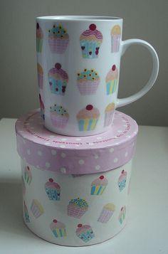 Cupcake Mug by 'Cups 'n' Cakes by Hanita' via flickr photo sharing<3