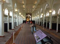 The stables at The Royal Mews, London