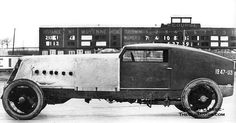 1926 Renault record run Montlhery France