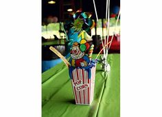 Carnival Adoption Party Centerpiece - Our Growing Family |