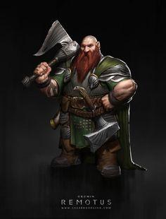 m Dwarf Fighter Oromin by Rosolino on DeviantArt