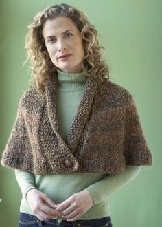 Knit Library Capelet