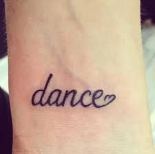 Image result for dance tattoos