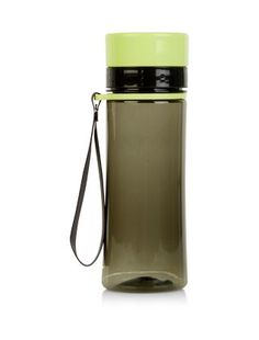 Lime Sports Water Bottle    New Look