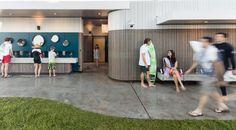 New amenities at Bondi Beach, NSW, Australia by Sam Crawford Architects