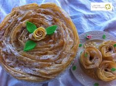 Ruffled Milk Pie Tarta de Pasta Filo con Thermomix