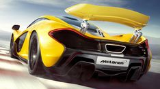 mclaren p1 supercar is an electric plug-in hybrid