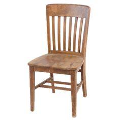 Hunter Wooden Chair At Found Vintage Rentals. Vintage Wooden Dining Chair