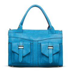 I just love this color and the satchel style. Very chic!