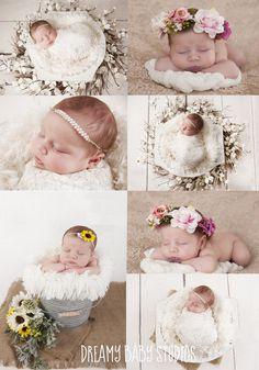 newborn photography, newborn girl, virginia beach newborn, hampton roads newborn photographer, dreamy baby studios