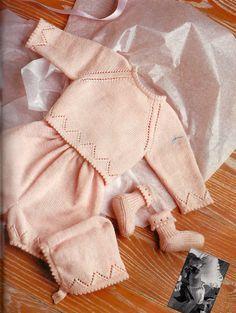VERDE -E- ROSA berretto,coprifasce,culotte e scarpine misure nascita fino a 9 mesi « La Maglia di Marica